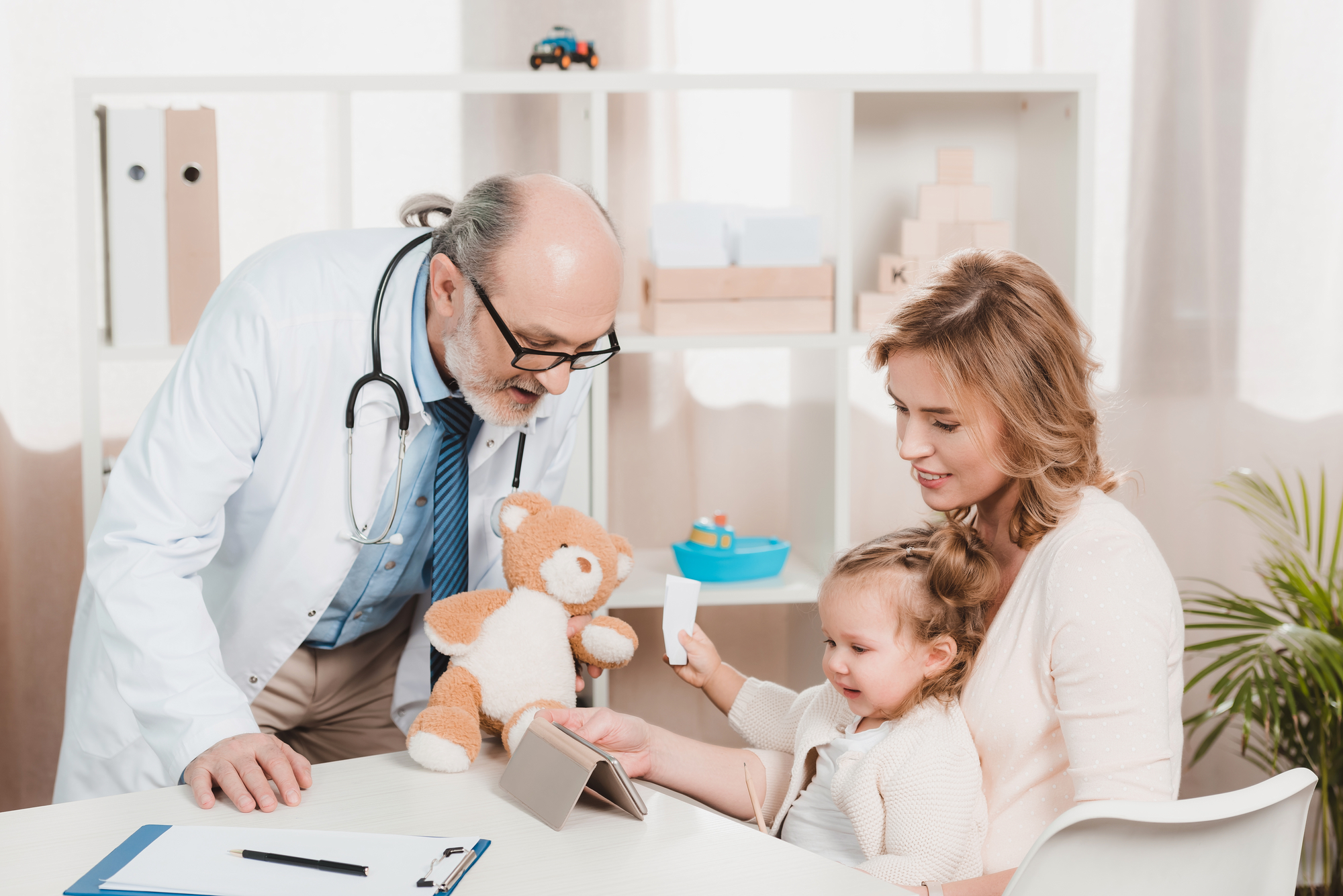 Family Doctor Teddy Bear