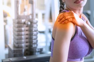 There are many different causes of shoulder pain, one of which could be a rotator cuff tear.
