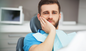 You should have a doctor check your gum pain because it could be a sign of gum disease.