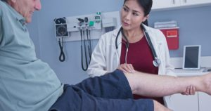 Sciatica treatment starts with a physical therapy consultation.